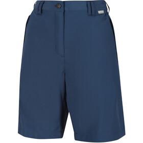 Regatta Chaska II Spodnie krótkie Kobiety, niebieski